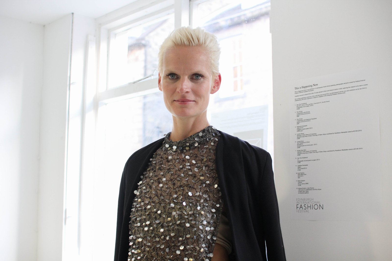 Anna Freemantle, Director of the Edinburgh International Fashion Festival