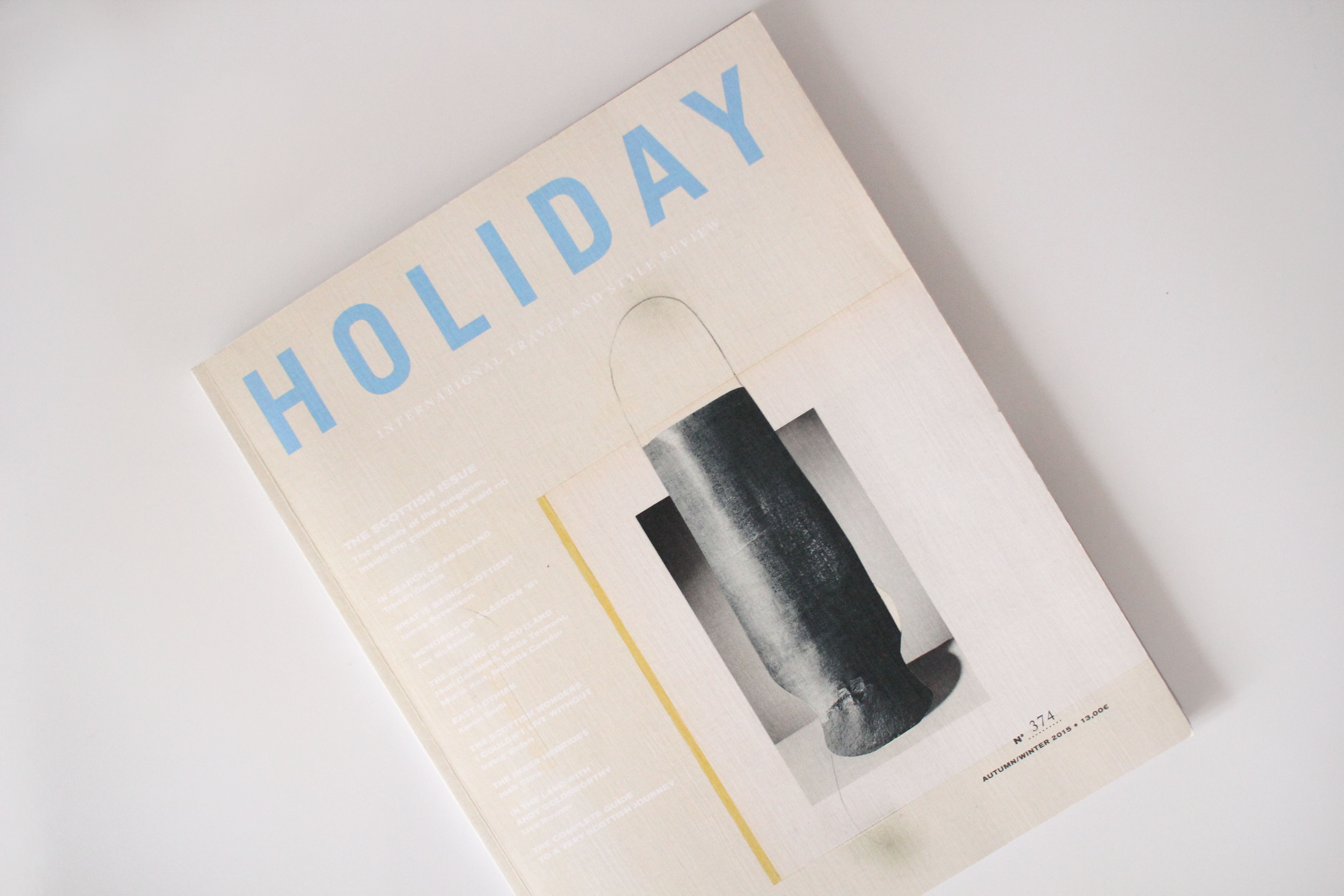 Holiday Magazine, 374th Issue