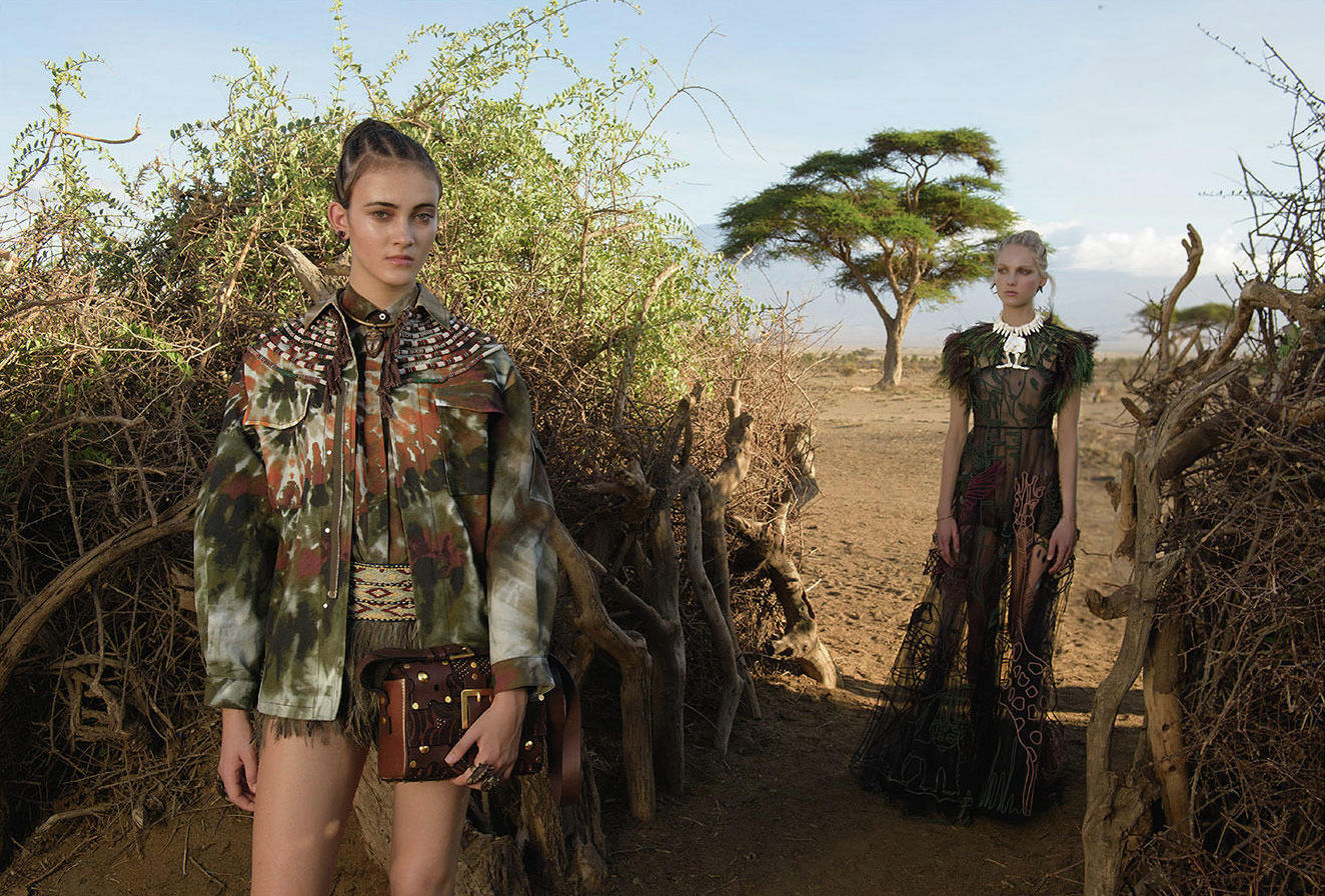 Valentino SS16 Campaign: photography by Steve McCurry / Valentino