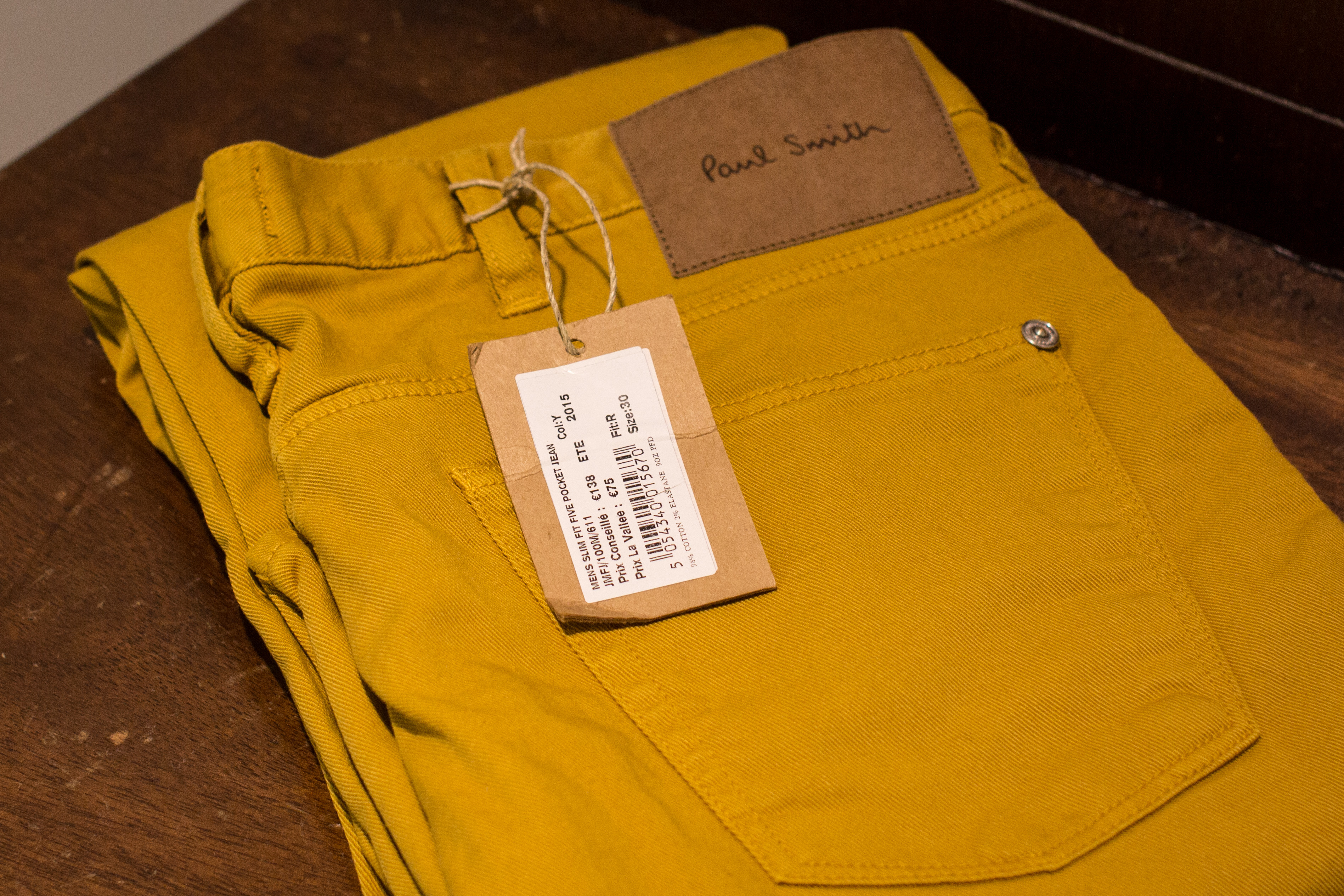 Mustard trousers! My favourite flavour