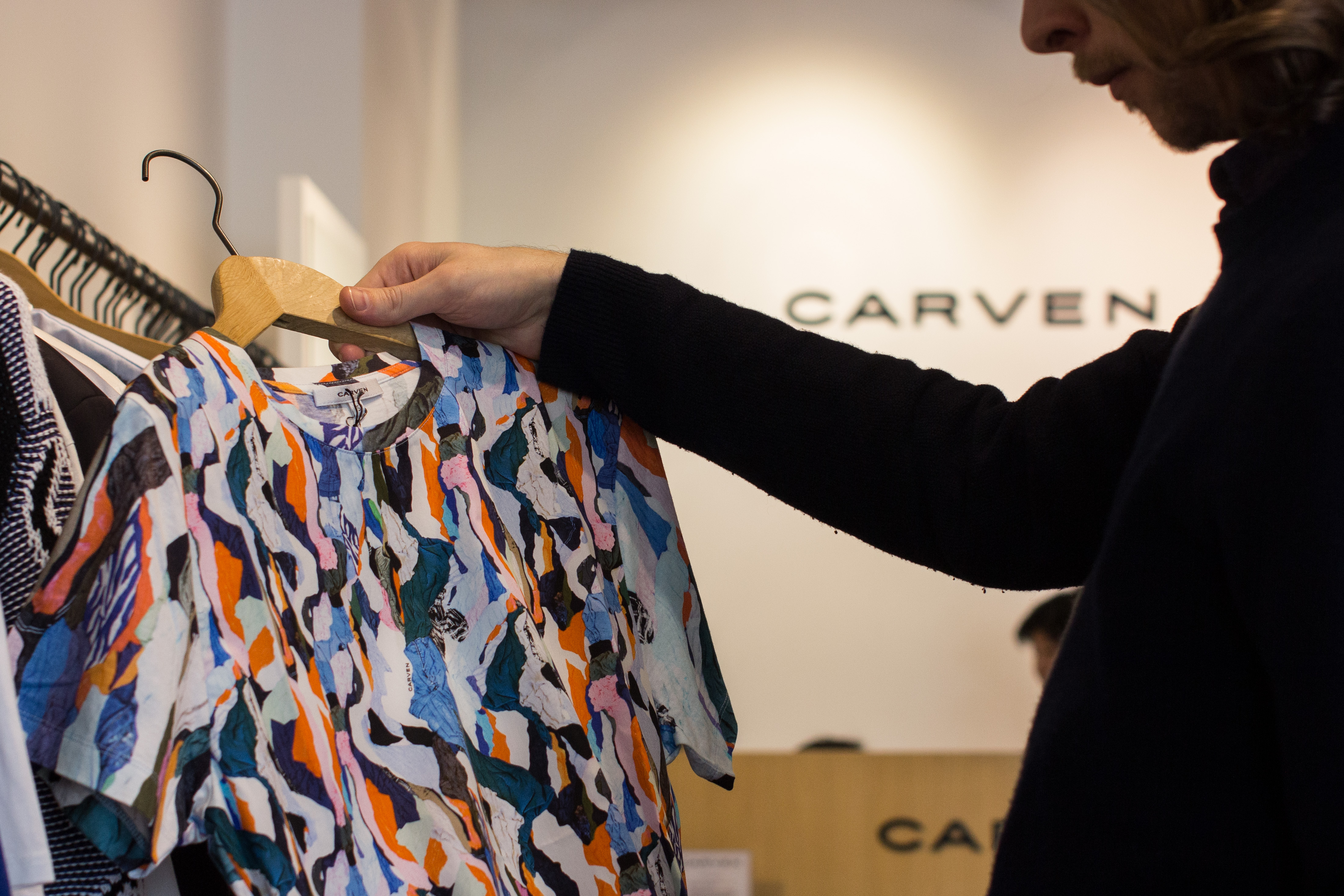 Cool textured Carven t-shirt