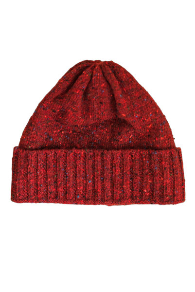 Oubas - Donegal Wool Beanie Hat