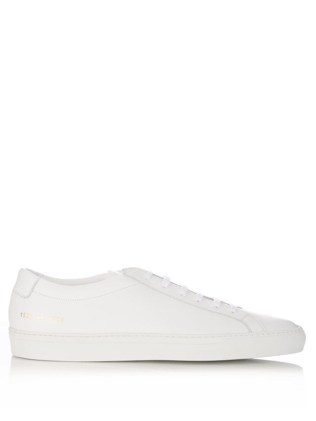 Common Projects - Original Achilles Low Top Leather Sneakers