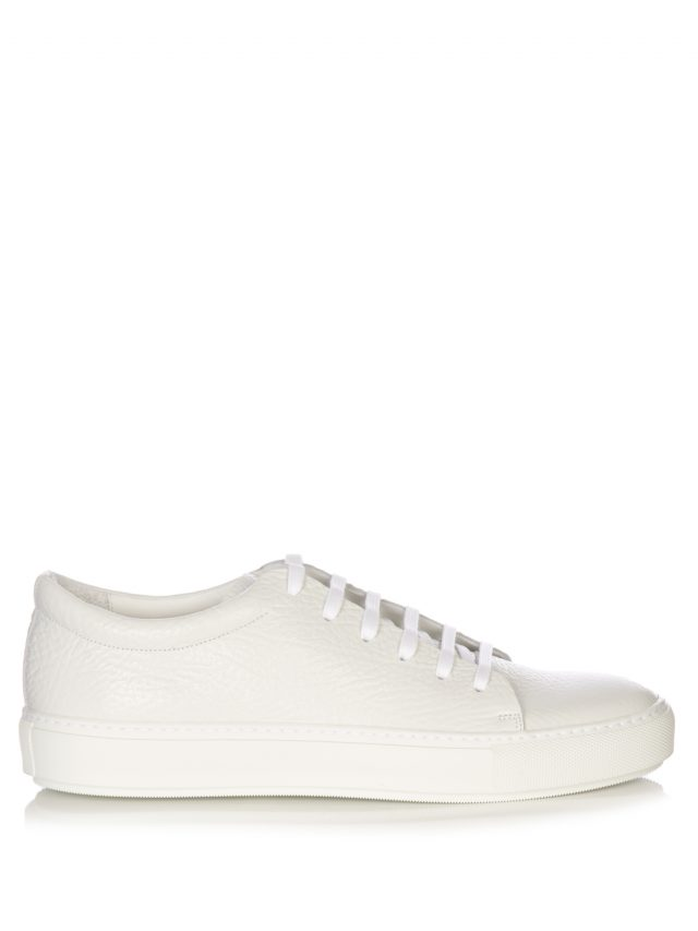 Acne Studios - Adrian low-top leather trainers