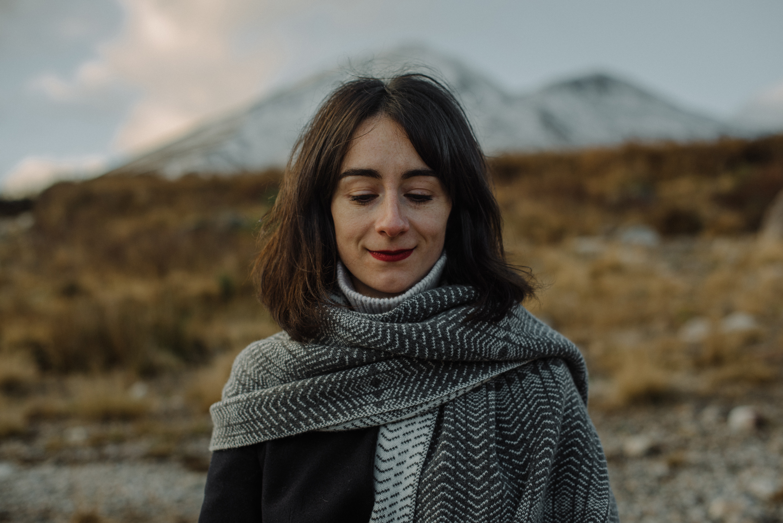 Shawl by Hilary Grant / Photograph by Steven Gallagher