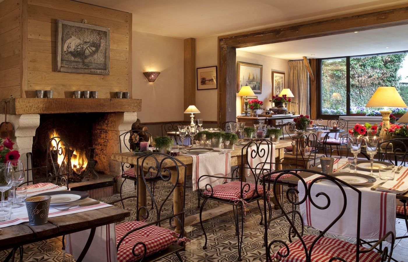 Auberge de la Source Hotel and Restaurant in Normandy, France, close to Honfleur